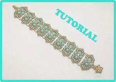 DIY Rossella bracelet tutorial how to make Rossella by 75marghe75