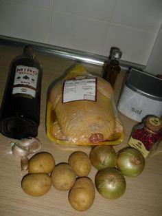 La Cocinita De Aroa : POLLO AL VERMOUT, POLLO CUK DESADA