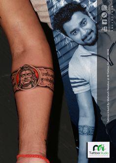 Lord shiva arm band tattoo design & inked by mahesh naidoo Bholenath Tattoo, Wrist Band Tattoo, Mantra Tattoo, Forearm Band Tattoos, Forarm Tattoos, Circle Tattoos, Tattos, God Tattoos, Famous Tattoos