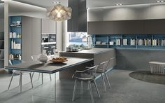 My Kitchen is Your Kitchen. Fenix Ntm, Interior, Kitchen, Table, Furniture, Design, Home Decor, Small Kitchens, Houses