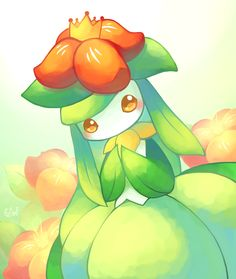 This is so cute! Lilligant, Pokémon