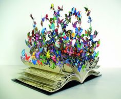 Book art - This is just beautiful