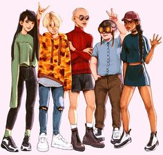 KND by ratskeleton on DeviantArt Cartoon Theories, Cartoon Crossovers, Cartoon Characters, Nickelodeon Cartoons, Old Cartoons, Disney Cartoons, Cartoon As Anime, Cartoon Shows, Anime Art