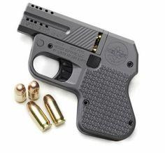Heizer Firearms DoubleTap .45ACP. The world's smallest .45 pistol.