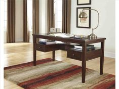office desk furniture for home home office furniture images Created from a combo of walnut, sycamore, elm, pine and yew, the Offers a Desk gathers a beautiful c. Home Office Furniture Sets, Home Desk, Home Office Desks, Office Table, Unique Desks, Contemporary Desk, Desk Storage, Desk Organization, Storage Ideas