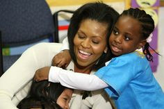 First lady Michelle Obama - The Christian Science Monitor Joe Biden, Durham, Obama With Kids, Thank You President Obama, Every Child Matters, First Ladies, Barack And Michelle, Social Trends, Barack Obama