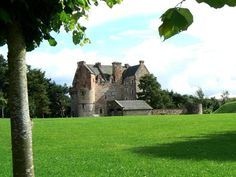 Dairsie Castle by James Allan - near to Kemback, Fife, Great Britain
