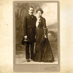 Harry Longbaugh, aka The Sundance Kid, and his girlfriend, Etta Place, posed in New York City before Longbaugh headed to Bolivia with his legendary partner Butch Cassidy. – Courtesy Library of Congress –