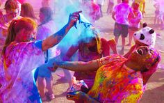 India's Holi Festival Welcomes Spring With Vibrant Bursts Of Color Kids News Article