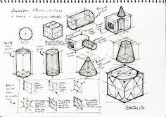 Elipse (Isometric Circles), Cones, Application of Circles and Arcs on Isometric Surfaces and Edges