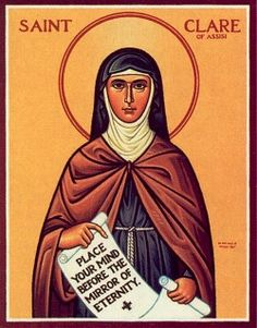 Saint Clare of Assisi    Patron of Television