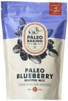 Paleo Blueberry Muffin Mix -- You can find out more details at the link of the image.