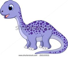 Illustration about Cute diplodocus cartoon with white background. Illustration of large, artificial, dinosaur - 43472546 Dinosaur Images, Dinosaur Pictures, Cartoon Dinosaur, Dinosaur Art, Cute Dinosaur, Dinosaur Birthday, Die Dinos Baby, Baby Dinosaurs, Baby Animals