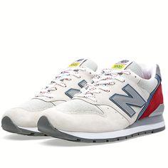 9e9602b4b948 New Balance (NB) - Made In The USA Heren Beige Rood Blauw Grijs