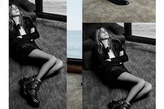 Saint Laurent Paris Hedi Slimane campana otono invierno 2013 Cara Delevingne Cole Smith Kurt Cobain Courtney Love