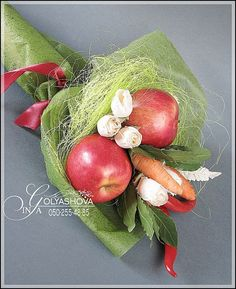 Gallery.ru / Фото #9 - Букеты из овощей и фруктов - nekto1