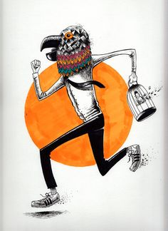 ANIMAL (Markers & Paper) on Behance