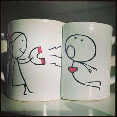 Las 12 mejores tazas para parejas. ¡Te vas a enamorar!