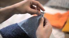 Ylivetämiskavennus (vasenkätinen) Knitting Accessories, Hand Knitting, Youtube, Youtubers, Youtube Movies