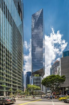 18 Robinson Building / KPF | ArchDaily Atrium Garden, Sky Garden, Rooftop Garden, Tower Building, High Rise Building, Sustainability, Garden Features, Skyscrapers, Raised Gardens