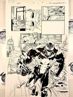 EDDIE BROCK & VENOM from Marvel Comics. Pencils: Paulo Siqueira, Inks: Walden Wong. Sub me at www.youtube.com/WaldenWongArt . #venom #spiderman #carnage #marvel #comics #marvelcomic #draw #ink #inks #inking #penandink #penandinkdrawing #micron #fineliner #art #artwork #anime #manga #mangastyle #mcu #avengers #arts #sketching #toddmcfarlane #artoftheday #artofvisuals #doodles #drawing #sketch #doodlesofinstagram #artwork #sketching