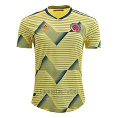 Camiseta Colombia Authentic Primera 2019   futbol replicas Messi Y Ronaldinho, Neymar, Uefa Champions, Champions League, Fifa World Cup 2018, Fc Porto, Football Kits, Sport Girl, Happy Shopping