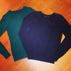 Get cozy with these sweet and chic sweaters #sweaters #sweaterweather #sparkle #frenchconnection