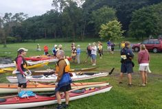 Live near New York? Want to go paddling on Sunday? Try the 5th annual Can You Canoe Cayuga event. Starts at 9 am