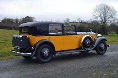 Rolls Royce Phantom Interior, Vintage Cars, Antique Cars, Bugatti Chiron, Classic Motors, Motor Car, Engine, Auction, British
