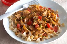 Have you tried our Beef Paprikash recipe? Sweet paprika gives this flavourful beef and noodle dish its name, but the creamy texture of the sauce is all thanks to MIRACLE WHIP. Noodle Recipes, Pasta Recipes, Beef Recipes, Cooking Recipes, Healthy Recipes, Mushroom Dish, Beef And Noodles, Egg Noodles, Arrows