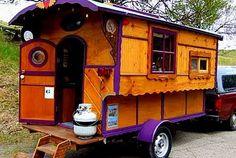 The Flying Tortoise: Joseph's Gypsy Wagons...