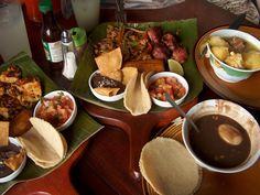 una de las mejores cosas de Costa Rica, nuestra comida... =)