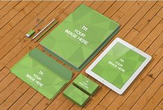 Stationery Branding Design Mockup Template   ShareTemplates