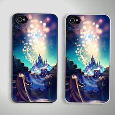 New Disney Tangled Custom iPhone 4/4S Case Cover
