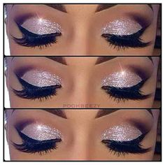 Ice princess eyes