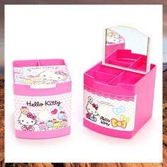 HELLO KITTY Jewelry Box Storage Box Sanrio Multi Use Organizer Case   eBay