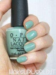 OPI mermaid's Tears #makeup #trucco #smalto #nail #nails #nailart #nailpolish #review #beauty #beautyblogger #nailmania