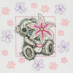 Lily - Me To You - Tatty Teddy - counted cross stitch kit Coats Crafts