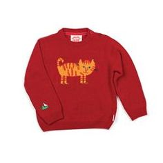 Red Cat Jumper by Tootsa MacGinty