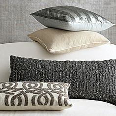 beaded highland knot pillow (and other lovely pillows at Serena & Lily)