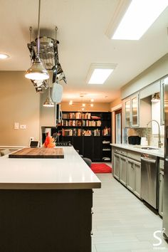 Kitchen Designers Houston New Loft Modern Eliving Room Exposed Brick Wall Black White Red 2018