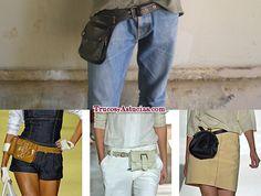 #Truco para pasar el control de equipaje de mano #Ryanair, #Vueling y #Easyjet: si no tienes espacio en la maleta ni para el bolso, ponte #riñonera. Más #trucos: http://trucosyastucias.com/consejos-para-viajar/control-equipaje-de-mano-de-ryanair #fanny #cool #cuero #leather #moda #complementos #clothing #accessories #tips #ideas