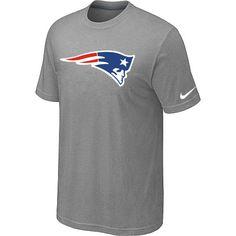 finest selection 2af65 f1754 Mens New England Patriots Sideline Legend Authentic Logo DriFIT TShirt  Light grey