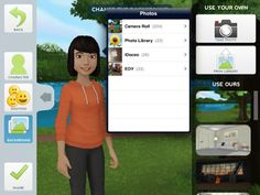 Use the free Tellagami app to create short, animated videos for the classroom. Try creating book reports, reviews, and fun story problems with your students!