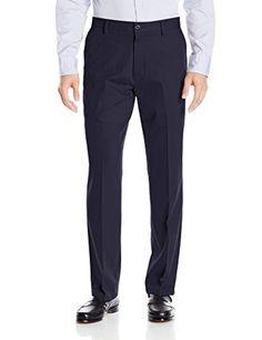 Nautica Mens 4-Way Performance Stretch Solid Twill Dress Pant