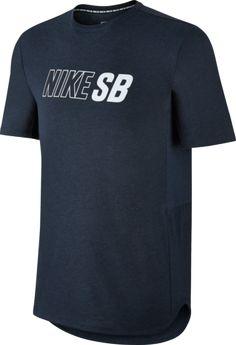 03fd53dc40b43 NIKE SB SKYLINE DRI-FIT T-SHIRT BLUE  nike  nikesb  nikeshirt  new   fourseasonsshop