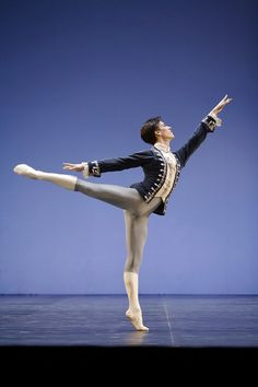 "Pierre-Arthur Raveau in ""Marco Spada"" ""Premier Danseur"" of the Paris Opera Ballet"
