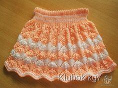 Детские юбочки с от Ирины Вернер (Германия)   Клубок Crochet Baby Dress Pattern, Knit Baby Dress, Crochet Doll Dress, Knitted Baby Cardigan, Baby Pullover, Baby Dress Patterns, Crochet Skirts, Baby Knitting Patterns, American Girl Outfits