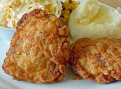 Easy Fried Chicken from AR Mexico Edible Crafts, Kfc, Allrecipes, Fried Chicken, Natural Health, Mashed Potatoes, Cauliflower, Healthy Recipes, Healthy Food