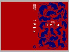 George Orwell - 1984 | 12 Beautiful Redesigned Covers Of Literary Classics
